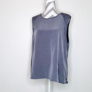 CALVIN KLEIN Two Toned Comfy Long Flowy Tank